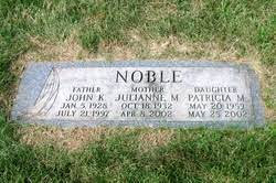 Julianne Elizabeth Murray Noble (1932-2002) - Find A Grave Memorial