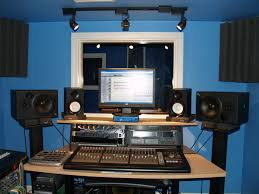 Home recording studio with isolation room  Credit. 18. Credit