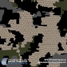 Kuiu Camo Patterns Fascinating KUIU Verde 4848 Hydrographic Film WTP48 Only At TWN Industries