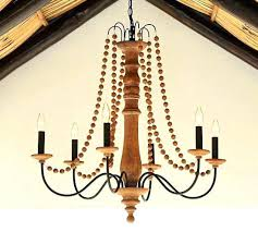 camilla chandelier pottery barn indoor outdoor wood knock off 3 arm potte