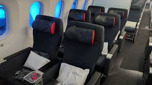 Information About Premium Economy Airline Seats