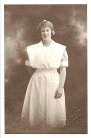 Nurse: Joyce Prince; 1923; 4.2.33 on eHive