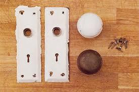 Before After Cleaning Vintage Metal Hardware DesignSponge