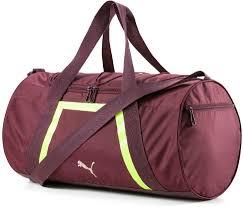 <b>Сумка</b> спортивная PUMA <b>AT Shift Duffle</b>, цвет бордовый, ярко ...