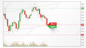 Candlestick Stock Chart Stock Market Candlestick Graph Vector Illustration Foreign Currence