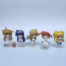 3 Không Lặp Lại 6 Cm Anime Nhật Bản GSC Hình Figma Ma Thuật Cô Gái Trữ Tình  Nanoha Hành Động Hình Búp Bê Trẻ Em Bộ Sưu Tập Búp Bê|