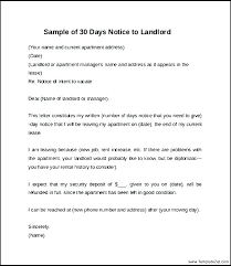 Notice Letter To Tenant Template Metabots Co