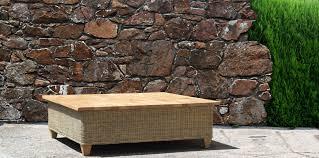 mrw tavno 02 natural rattan and wood coffee table modern design