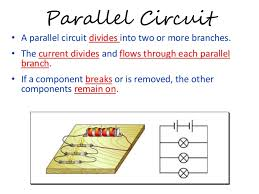 electric field electric circuit and electric current seriescircuit parallelcircuit 22 draw the circuit diagram