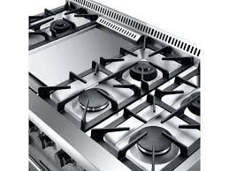 Gas Kitchen Stove Double Oven Model Professional Gas Range A Six