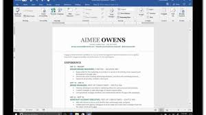 Resume Assistant Uses Linkedin S Data To Make Word A Better