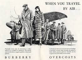 a burberry ad campaign from 1938