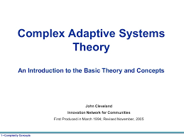 complex adaptive systems theory