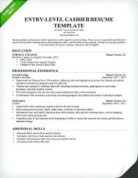 what are some good achievements to put on a resume cashier resume template  entry level good
