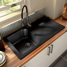 incredible kitchen black sink top 15 black kitchen sink designs mostbeautifulthings
