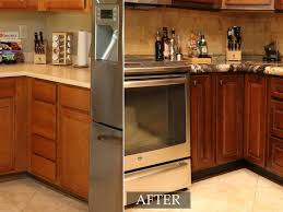 How Reface Kitchen Cabinets Reface Kitchen Cabinets Before And After Kwasare Decoration