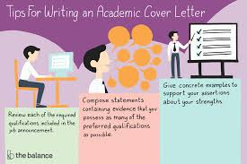 Tips For Writing Cover Letters How To Write An Academic Cover Letter With Examples