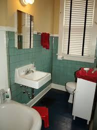 1940 Bathroom Design Simple Kristen And Paul's 48s Style Aqua And Black Tile Bathroom Built