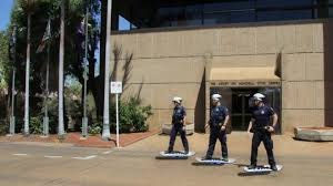 Back To The Future Queensland Police Deploy Hoverboard Unit Bbc