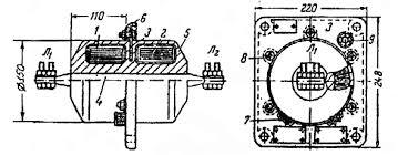 Реферат Измерительные трансформаторы тока ru Проходной одновитковый трансформатор тока типа ТПОЛ Р Р со стержневой первичной обмоткой