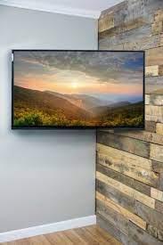 full motion articulating corner wall tv