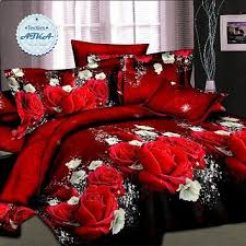best red queen bedding set products on
