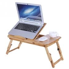 Office desk bed Hidden Portable Folding Bamboo Laptop Table Sofa Bed Office Laptop Stand Tray Desk Bed Table For Computer Notebook Books Neginegolestan Portable Folding Bamboo Laptop Table Sofa Bed Office Laptop Stand