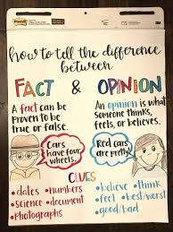 Fact Vs Opinion Anchor Chart 10 Opinion Versus Fact Worksheet Kindergarten
