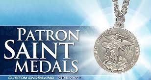 saint medals for confirmation gifts custom engraved medals make wonderful confirmation keepsakes
