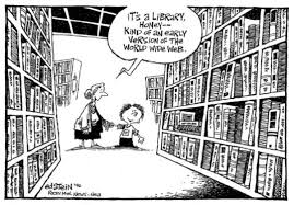 an early version of the world wide web the best library cartoons