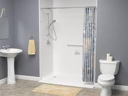 barrier free shower base