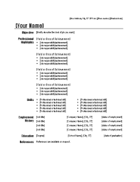 functional resume modern design resume templates microsoft office