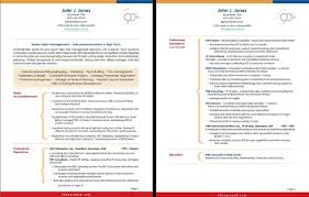 Two Pages Resume Samples Resume Templates Pages 2 2 Page Resume With