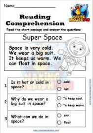 Options abound with our kindergarten worksheets, which establish the foundation for developmental math, writing, and reading skills through activities that range from simple addition and sight words to vowel sounds and consonant blends. Reading Comprehension And Writing Worksheets Kindergarten And Primary Grade Making English Fun