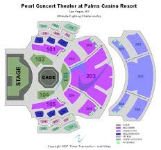 Pearl Concert Theater At Palms Casino Resort Tickets And
