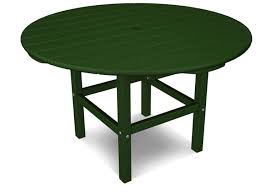 polywood kids recycled plastic 38 round dining table