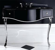 bathroom console vanity. Bathroom Console Vanity Black Lacquered Table Sink With Shelf 1