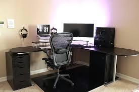ikea bekant l avec bekant desk best of simple battlestation with ikea galant bekant idees et bekant desk best of simple battlestation with ikea galant