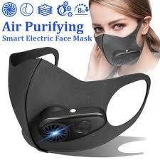 KN95 Fresh <b>Air Supply</b> Face Mask <b>Anti Haze</b> Electric Intelligent Dust ...