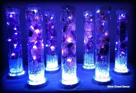 vase lighting. Vase Light Base Cylinder With Purple Orchids Wedding Table Centrepieces Submersible Led Lighting And . N
