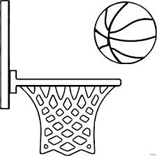 Basketball Making The Hoop Coloring Tgm Sports Jokingartcom
