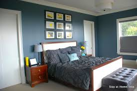 Blue And Grey Bedroom Color Schemes.