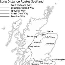 Pennine Way Distance Chart Official Long Distance Routes Ldrs In Scotland Download