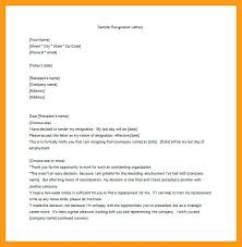 Employee Resignation Letter Delectable 44 Resignation Letter Sample For Employee Pulsefitseattle