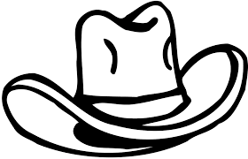 Small Picture Cowboy hat clipart 5 image 17529