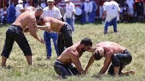660. Tarihi Kırkpınar Yağlı Güreşleri'nde 2. tur müsabakaları yapıldı -  Gaziantep Haberleri