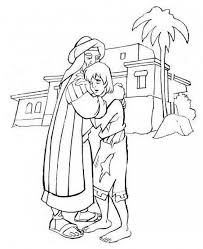 The Prodigal Son Coloring Pages Coloring Home