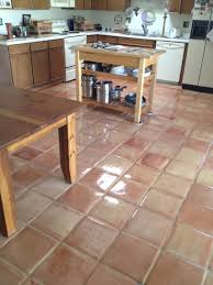saltillo tile 4 after cleaning sealing tucson