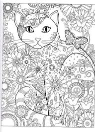 Coloriage Anti Stress Pour Adultes Imprimer Coloriage Chat Art