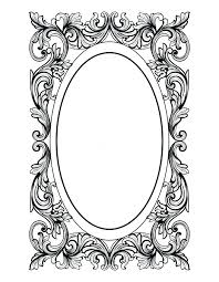 oval frame tattoo design. Drawn Oval Frame Tattoo Design